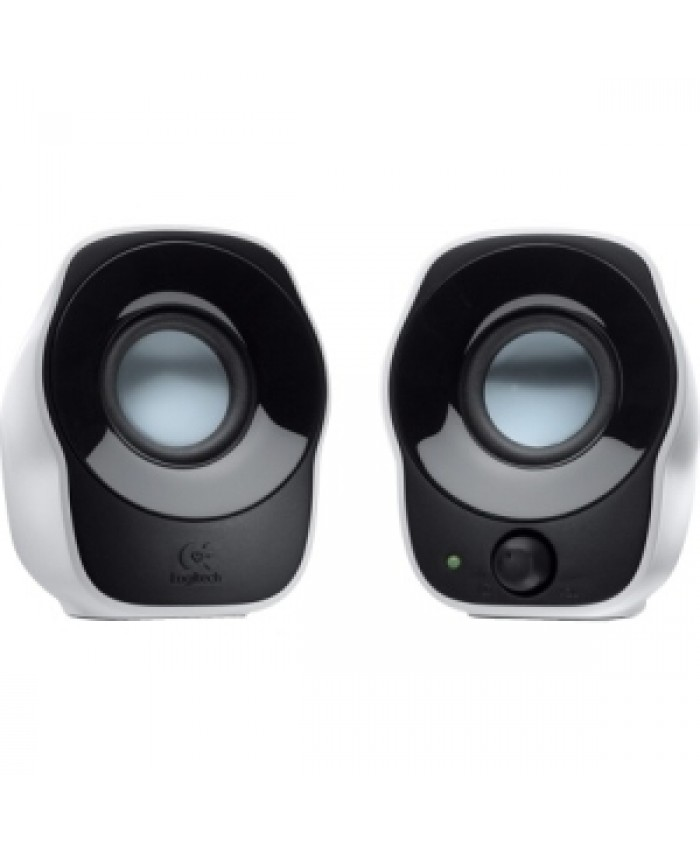Z120 SPEAKER SYSTEM 2.0 Logitech Stereo Speakers Z120 Simple to connect, easy to enjoy - USB power, 3.5 mm audio input - Cable management - Power and volume controls