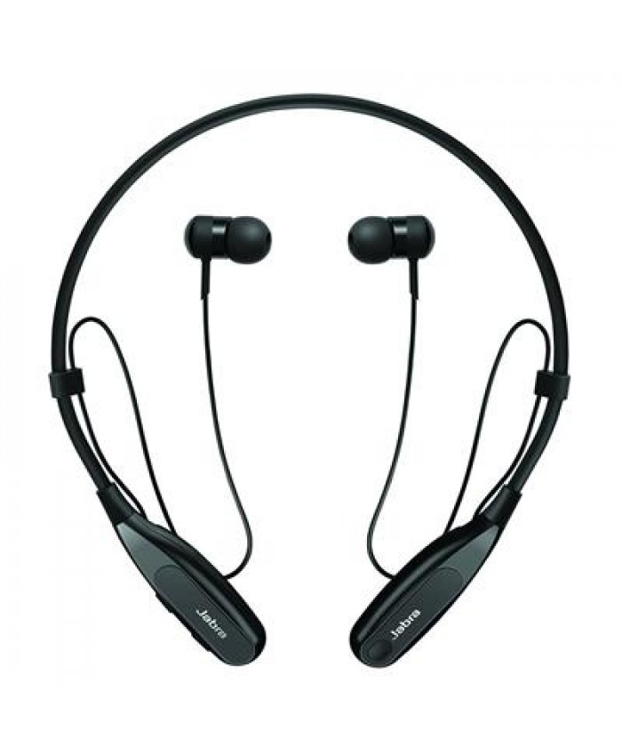 Jabra Halo Fusion Wireless Bluetooth Stereo In Ear Headphones (Black)