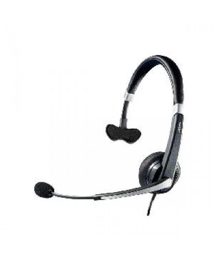 Jabra Voice 550 corded Mono Headset (MS OC) with comfortable headband with soft leatherette padding