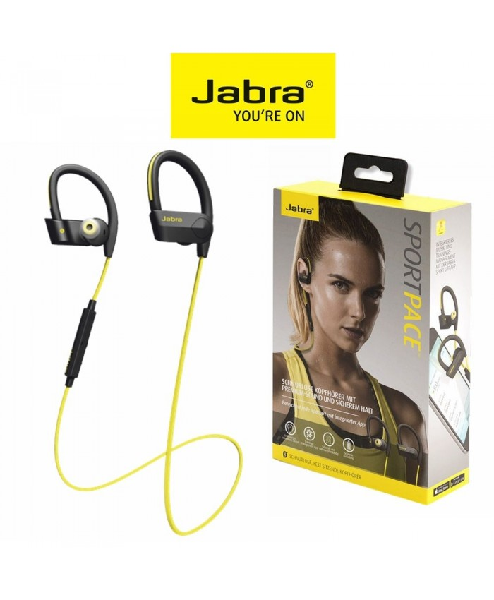 Jabra Sports Pace Wireless Headphones Yellow