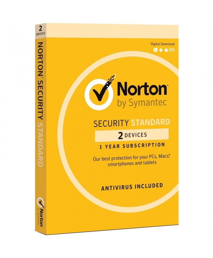 Norton Security Standard 3.0 AU 1 Year, 2 Multi Device with media
