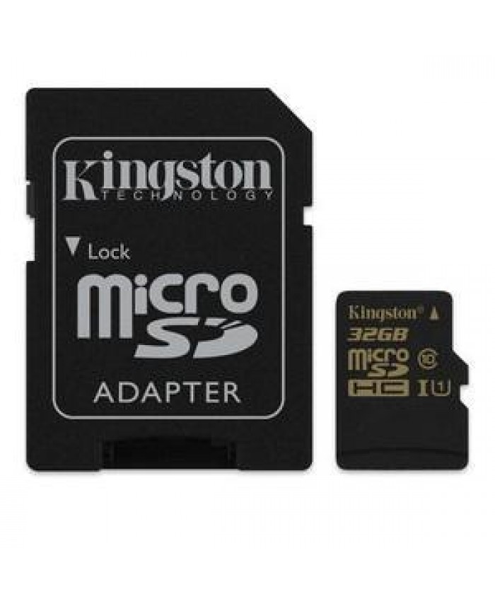 32GB microSDHC CL10 UHS I 90R/45W with adapater